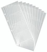 Набор 10 прозрачных файлов для визитных карточек для визитниц DURABLE 2387