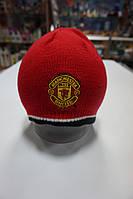 Манчестер Юнайтед - Шапка трикотажная двухстороняя (official product)