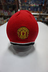 Манчестер Юнайтед - Шапка трикотажна двостороння (official product)