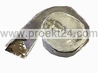 Оконная лента внутренняя полнобутиловая фольгированная 100мм*15м  Робибанд