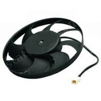 Электровентилятор охлаждения радиатора ВАЗ 2108,2115 в сборе с диффузором (8 лопастной) (производство ОАТ ВИС)