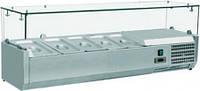 Вітрина для топінгу FROSTY THV 33-1200 (Італія)
