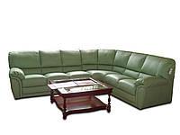 """Кожаный угловой диван """"LUXOR"""" (Луксор). (312 см)"""