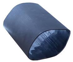 Термоусадочная трубка с клеевым слоем ТСК d  6,4 черная