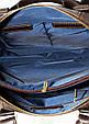 Кожаный мужской портфель Mk25 коричневый, фото 7