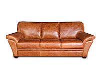 """Новый раскладной 3х местный кожаный диван """"ALEKSANDRO"""" (Александро). (220 см)"""