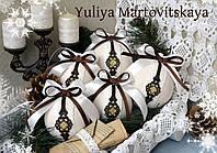 """Новогодние шары  """"Тайное послание"""""""