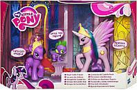 My Little Pony Royal Castle Друзі королівського замку з Princess Celestia (Друзья королевского замка)