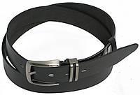 Ремень мужской под брюки FLX 3142 чёрный ДхШ: 120х3,5 см.
