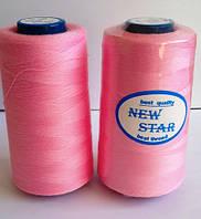 Нитка 40/2 ТМ NEW STAR №134 - темно-розовая