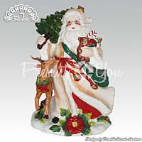 Керамическая статуэтка «Дед Мороз», h-26 см.