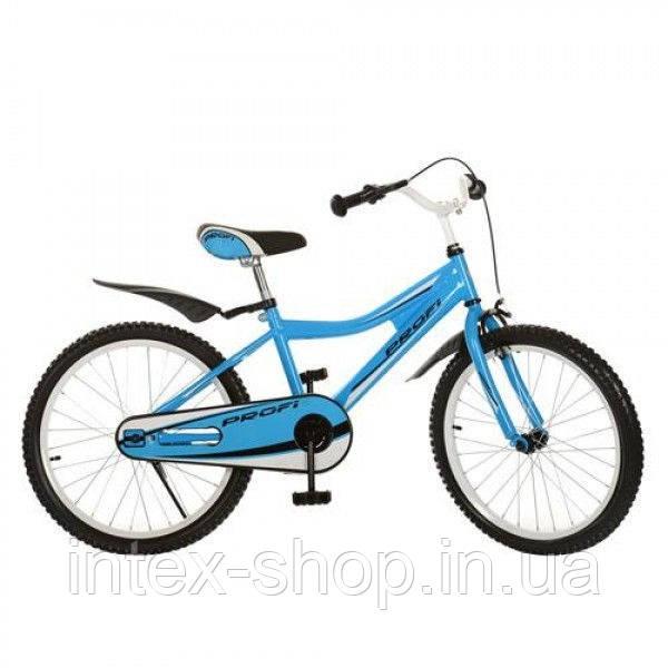 Детский велосипед двухколесный 20BA494-2 голубой 20 диаметр
