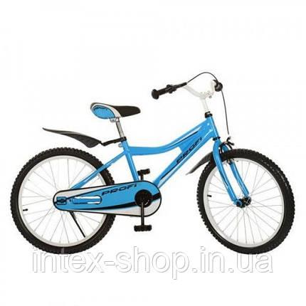 Детский велосипед двухколесный 20BA494-2 голубой 20 диаметр , фото 2