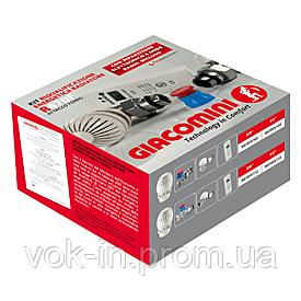 Комплект подключения радиатора Giacomini угловой с термоголовкой 1/2, фото 2