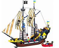 Конструктор BRICK 307, Пиратский корабль, 590 деталей