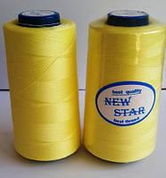 Нитка 40/2 ТМ NEW STAR №109 - светло-желтая
