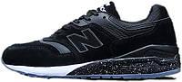 Женские кроссовки New Balance ML 997 HBA Black, нью беланс