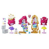 """MLP EG Игровой набор мини-кукол """"Пижамная вечеринка"""", Switch-A-Do Salon B8824&B7735"""