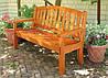 Деревянная мебель для дачи Флокс со спинкой