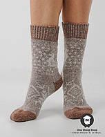 Женские носки, тёплые носки, вязанные носки, ангоровые носки