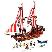 Конструктор BRICK 308, Пиратский корабль, 870 деталей