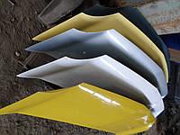 Капот жовтий Renault Kangoo Рено Канго ІІ 2008-2012
