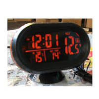 Часы термометр вольтметр VST 7009 V для автомобиля