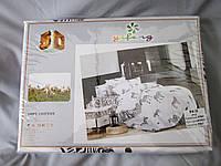 Постельное белье комплект евро 5D, жаккард, животный принт, в коробке