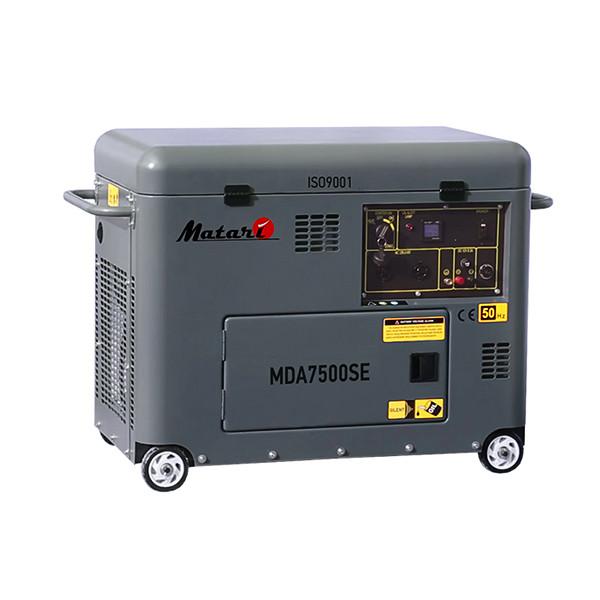 Однофазный дизельный генератор MATARI MDA7500SE (5 кВт)