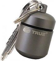 Стильный брелок-капсула для монет CoinStash True Utility TU239