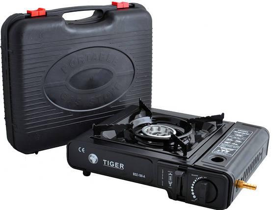 Портативная газовая плита двойного действия с адаптером в кейсе TIGER №66-1, фото 2