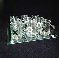 Алко-игра Крестики-нолики, алкогольные игры