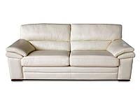 """Кожаный 3х местный диван """"Leonardo"""" (Леонардо). (217 см)"""