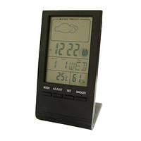 Настольные цифровые часы St-8007 с термометром, гигрометром, подсветкой