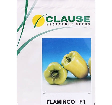 Семена перца Фламинго F1 (Clause) 5 г — ранний (65 дней), кубовидно-коничный, красный, сладкий, фото 2