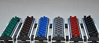 Грязезащитная решетка «Лен» щетка цветная 600х400мм