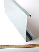 Металева декоративна кришка для алюмінієвого профілю, фото 1