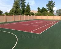Резиновое покрытие для детских, игровых, спортивных площадок, тренажёрных залов