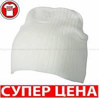 Классическая ЛЕГКАЯ ШАПОЧКА цвет БЕЛЫЙ mb7923