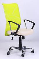 Кресло АЭРО НВ  сиденье Неаполь N-17/спинка Сетка лайм