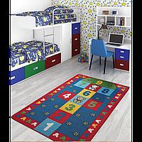 Ковер в детскую комнату Confetti - Seksek 04 красный 100*150