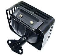 Глушитель для мотоблока 168F