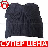 Классическая ЛЕГКАЯ ШАПОЧКА цвет ТЁМНО-СИНИЙ mb7923