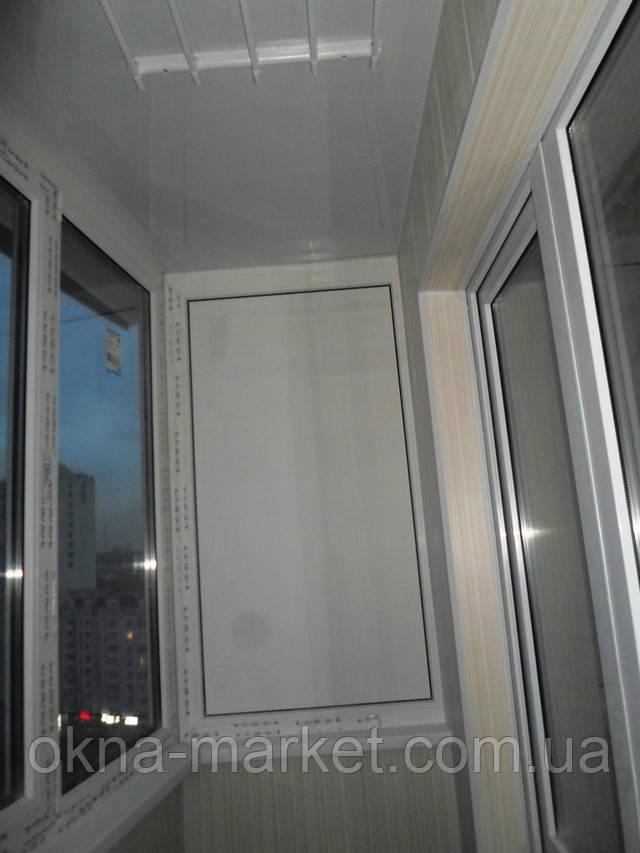 Остекление и обшивка балконов пластиковой вагонкой, компания