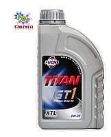 Масло моторное синтетическое Fuchs TITAN GT1 0W-20, 1л