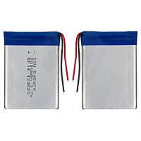 Батарея (АКБ, аккумулятор) для китайских мобильных телефонов, универсальная, 2000mAh, 70*50*5,0 мм