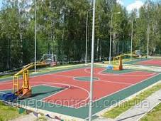 Резиновая плитка для игровых площадок 12мм (Украина), фото 3