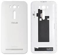 Задняя часть корпуса (крышка аккумулятора) Asus ZenFone 2 Laser (ZE550KL) Original White