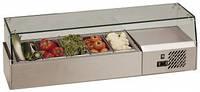 Витрина холодильная настольная для топпинга Tefcold VK33-200