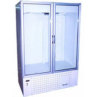 Холодильный Шкаф-витрина Айстермо ШХС-1.2 c лайт-боксом